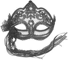 fancy masquerade masks clariee masquerade masks transparent mask with black flower