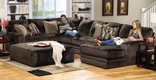 Soft Sectional Sofa Jackson Everest Customizable Sectional Sofa Set B Chocolate Jf