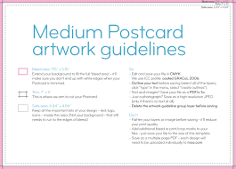postcard templates and guidelines moo canada