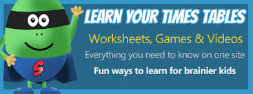 help learning times tables 5 times tables games worksheets homework help at super brainy beans
