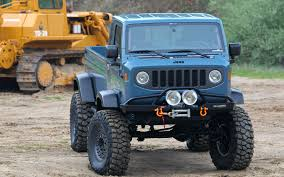 jeep forward control jeep mighty fc concept first drive truck trend