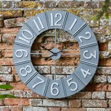 garden clocks including wall mounted and station clocks