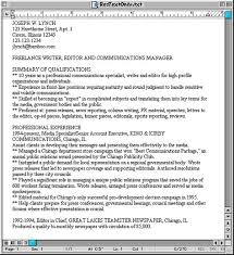 plain text resume template plain text resume templates paso evolist co
