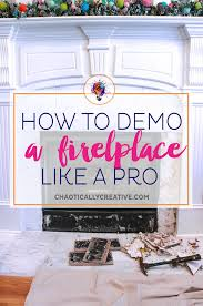 how to remove fireplace tiles chaotically creative