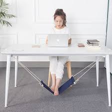 under desk foot rest hammock