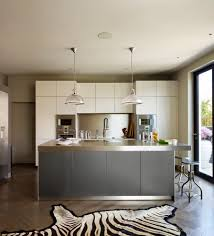 modern cream kitchen gray and cream kitchen kitchen modern with light hardwood flooring