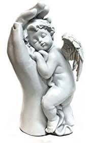 amazon com loves child angel cupid home decor cherub statue baby