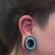 60 ear tattoos designs and idea for stylish