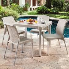 beige patio dining sets you u0027ll love wayfair