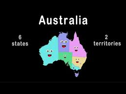 territories of australia map australia australia geography