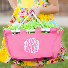 personalized easter basket personalized easter basket kids monogrammed gifts happen here