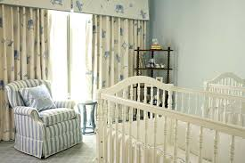 nursery window curtains roller shade with drapery for baby nursery