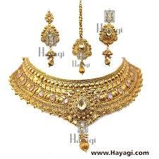 bridal choker necklace images Bridal choker necklace set online hayagi jpg