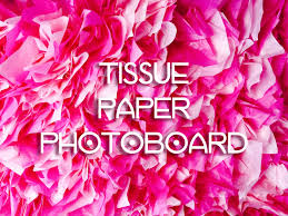 backdrop paper tissue paper backdrop photoboard diy