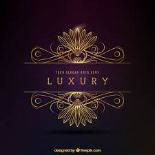 Luxury Luxury Golden Decorative Logo Vector Premium Download