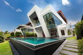 design lab create a modern villa in singapore