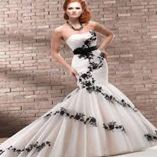black and white wedding dresses plus size pluslook eu collection