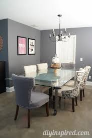 Dining Room Makeover Reveal DIY Inspired - Dining room makeover pictures