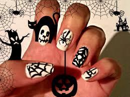 Halloween Spider Web Nails Designs Nail Art By Crix Tutorials