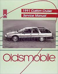 1991 oldsmobile custom cruiser repair shop manual original