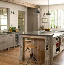 Kitchen Island Made From Reclaimed Wood Salvaged Kitchen Cabinets U2022 Nifty Homestead