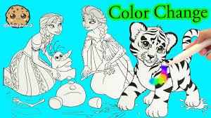 disney frozen lisa frank imagine ink rainbow color change pen