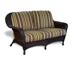 Wicker Deep Seating Patio Furniture by The Lexington 6 Piece All Weather Wicker Deep Seating Loveseat Set