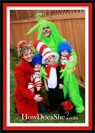 Dr Seuss Characters Halloween Costumes Awesome Dr Seuss Costumes Family Holiday Fun