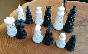 Futuristic Chess Set Weekly Roundup Ten 3d Printable Chess Sets 3dprint Com The
