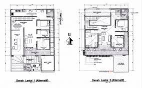 layout denah cafe desain rumah tinggal sekaligus rumah kost counter hp wartel atau