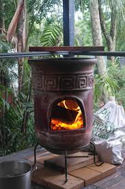 small patio heater exterior exciting outdoor heater design with ceramic chiminea