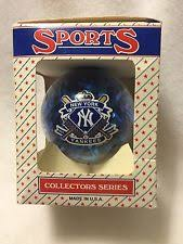New York Yankees Christmas Tree Ornament by York Yankees Mlb Blown Glass Train Ornament Ebay