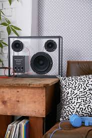 minimalist computer speakers 10 stylish speakers to bring the party to your pad brit co