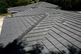 Flat Tile Roof Roof Repairs New Roofs In Miami Charcoal Flat Cement Roof Tile