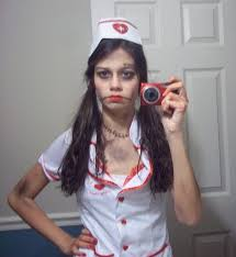 zombie nurse makeup step by makeup vidalondon