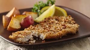 Catfish Dinner Ideas Pecan Crusted Fish Fillets Recipe Bettycrocker Com