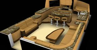 Power Boat Interiors Interior Boat Design Applied Concepts Unleashed Yacht