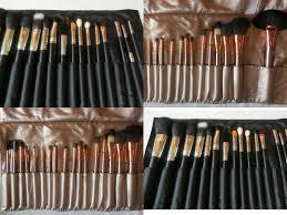 megaga 18pcs and sixplus 15pcs affordable makeup brush sets show