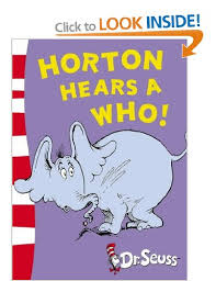 horton hears yellow book dr seuss yellow book