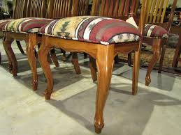encore furniture gallery southwestern style splat back cherry teak