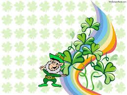 get lucky with leprechaun desktop wallpaper for st patrick u0027s day