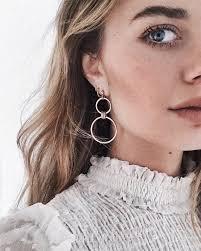 loop earrings best 25 hoop earrings ideas on gold hoop earrings