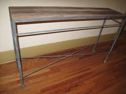 Cheap Console Table by Haven And Home Industrial Console Table For Sale