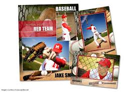 baseball memory mate template pack c flyer templates creative