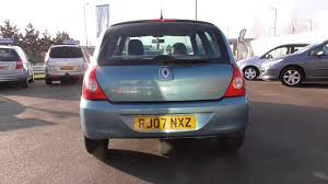 renault clio 1 2 campus 2007 3dr u17369 youtube
