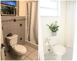my black and white bathroom makeover u2022 mimzy u0026 company
