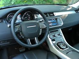 range rover steering wheel 2013 range rover evoque coupe review cars photos test drives