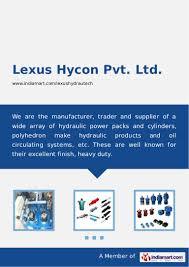 lexus india surat lexus hycon pvt ltd ahmedabad hydraulic accumulators
