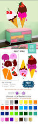 114 best flourish home decor images on pinterest handmade baby ice cream scoops wall decal sticker ice cream by stunningwalls
