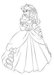 princess aurora prince coloring pages printable philip